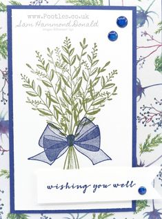 #1 Stampin' Up! Demonstrator Pootles - Tutorial Bundle Team Blog Hop - October