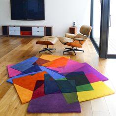 Unas alfombras muy bonita y llena de color...perfecta con mymesita!