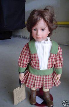 RARE Boyds Porcelain Doll Miss Molly #1/102 LOOK