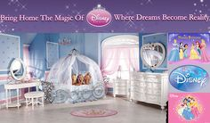 Princess Kids Rooms | Disney Kids | Kids Furniture | DISNEYKIDSROOMS - Home