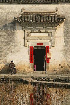 Hongcun  village, Architecture China,