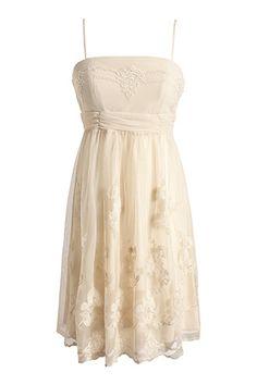 robe douce brodée en tulle - esprit 89,95