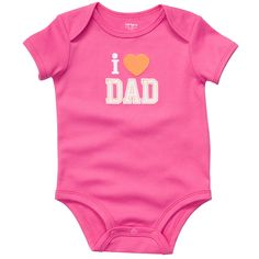 i <3 dad. #carters