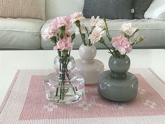 Flower Vases, Flowers, Marimekko, Home Decor, Bud Vases, Vase, Interior Design, Royal Icing Flowers, Home Interior Design