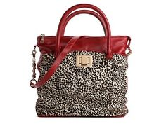 Kelsi Dagger Carter Leather & Pony Hair Convertible Tote
