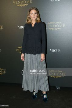Olivia Palermo attends Vogue Party as part of the Paris Fashion Week Womenswear Spring/Summer 2018 at on October 1, 2017 in Paris, France.