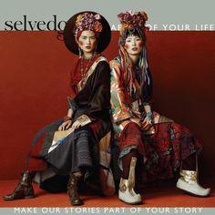 Selvedge magazine - The Fabric of your Life – Selvedge Magazine Oriental Fashion, Ethnic Fashion, Asian Fashion, Fashion Art, High Fashion, Fashion Design, Hanfu, Cheongsam, Editorial Photography