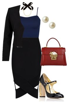 """""""hourglass formal"""" by nikita-tuteja on Polyvore featuring WearAll, Boohoo, WithChic, Lulu Frost, Dolce&Gabbana and Carolee"""