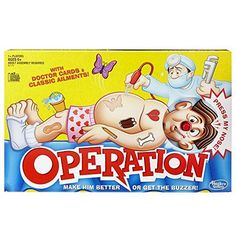 Classic Operation Game -- Want to know more, click on the image. Note:It is Affiliate Link to Amazon.
