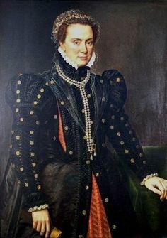 Autor: Antonio Moro (Holanda) Título: Margarita de Parma Cronología: 1562 Escuela: Flamenca Tema: Retrato