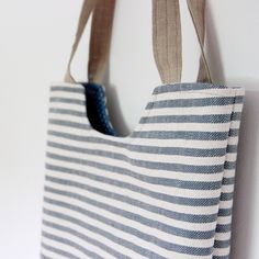Pruhatá Tote Bag, Sewing, Bags, Handbags, Dressmaking, Couture, Stitching, Totes, Sew