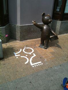 Milk Graffiti for Łódź City Hall