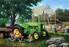 http://www.wildlifeprints.com/collections/freitag-charles/products/charles-freitag-the-barn-raising