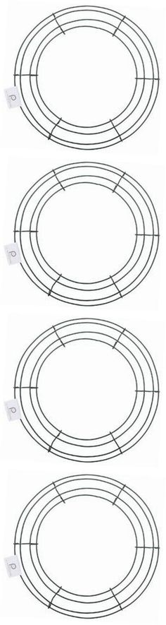 Wreaths 16498: Bulk Buy: Wire Wreath Frame 12 Green 36003 (10-Pack) -> BUY IT NOW ONLY: $48.65 on eBay!