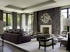 Contemporary Living Room Design Ideas, Pictures, Remodel, And Decor Part 50