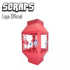 #0041 - Box Lampião Lamparina Decoração - Arquivo Silhouette - R$ 1,00 em Mercado Livre