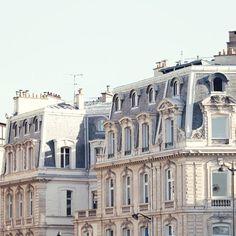 Second Empire - Paris Photograph Beautiful Buildings, Beautiful Places, Oh The Places You'll Go, Places To Visit, Architecture Parisienne, Tuileries Paris, Paris Rooftops, French Apartment, Parisian Apartment