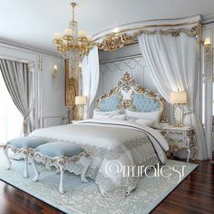 Bedroom Design Ideas – Create Your Own Private Sanctuary Dream Rooms, Dream Bedroom, Home Bedroom, Bedroom Decor, Fancy Bedroom, Bedroom Photos, Bedroom Furniture, Royal Bedroom, Bedroom Sets