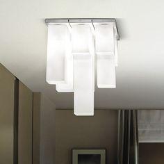 plafonnier design original / en verre soufflé / à incandescence