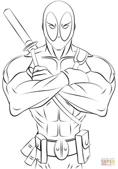 deadpool coloring pages print and.html