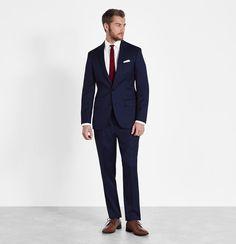 Blue Suit | The Black Tux