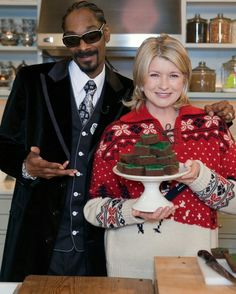 Snoop Dogg and Martha Stewart couples costume
