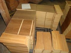 HOOD'S West Alton, Missouri has a large quantity of Cabinet Parts. These parts come in all sizes, & thicknesses, (mostly wood grain in appearance). These are great for shelves or small building projects.  We provide the materials for you to build your own one of a kind cabinet. We also have cabinet doors, many finishes, and sizes (all solid wood). Cabinet Parts, Small Buildings, Build Your Own, Cabinet Doors, Bamboo Cutting Board, Wood Grain, Missouri, Solid Wood, Shelves