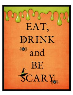 FlipChick Designs: Free Halloween Printable