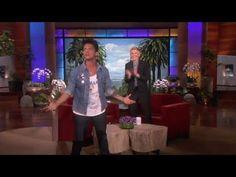 LOL!!!  Bruno Mars On The Ellen Show 10/02/2014 Full Interview HD - YouTube