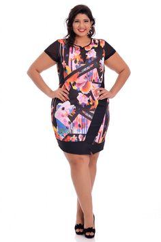 Vestido Lilly - VK Moda Plus Size