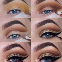 Best Bridal Makeup Tutorial Step By Step Urban Decay Ideas Eyeliner, Smokey Eyeshadow, Mascara, Makeup Inspo, Makeup Tips, Beauty Makeup, Lip Makeup, Makeup Ideas, Unique Makeup