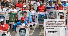 La editorial del New York Times publicada este jueves es crítica hacia México y su compromisos para combatir las desapariciones forzadas. Menciona que mientras el Gobierno ha anunciado iniciativas para limitar el uso de la tortura e investigar estos hechos, sus compromisos no son de confianza, pues