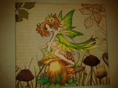 Fairy Celadine by Make It Crafty Stamps done by my designer Tracey Atkinson