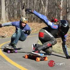 #tbt Original Skateabords Team Riders Max Vickers and Avery Wilcox lean into a left on with the Baffle 37 and Arbiter 36 at The Backwoods Turkey Unlicensed Leanfest in Chicago. Photo:Matthew Gregory
