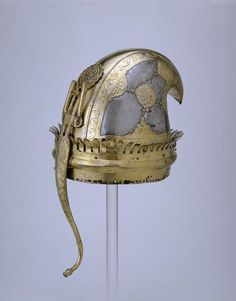 Helmet  Place of origin: Gwalior, India (made)  Date: 18th century (made)