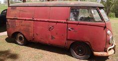 1963 VW Panel Van: Ready To Rat Rod? - http://barnfinds.com/1963-vw-panel-van-ready-to-rat-rod/