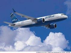 JetBlue Airways will get first U.S.-made Airbus jet   INTERNATIONAL ...