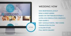 Download and review of Wedding vow - Responsive WordPress Theme, one of the best Themeforest Wedding themes {Download & review at|Review and download at} {|-> }http://best-wordpress-theme.net/wedding-vow-responsive-download-review/