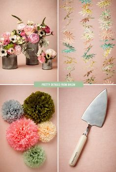 How much do you love these DIY details from BHLDN!? <3