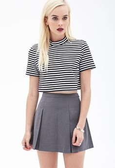 Pleated Mini Skirt #SummerForever