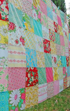 strawberry picnic patchwork... by rose hip..., via Flickr