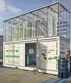 Aquaponique pour cultiver un potager en plein centre-ville par GrowUp