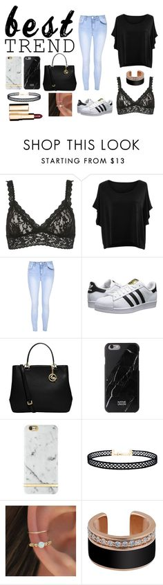 """best TREND 2016"" by beccastylesxoxo on Polyvore featuring Hanky Panky, jon & anna, Glamorous, adidas Originals, MICHAEL Michael Kors, Native Union, Richmond & Finch, LULUS and Clarins"