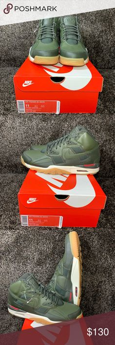 the latest 904ab 5f34e NIKE AIR TRAINER SC WNTR H2O repel . New in Box Mens Nike Air Trainer SC.  Color KhakiKhaki ...
