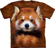 The Mountain Red Panda Portrait T-Shirt