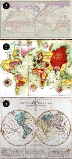 20 free vintage map printable images vintage maps vintage and craft solutioingenieria Image collections