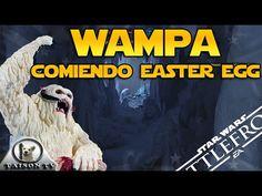 Wampa comiendose a un Taun Taun Easter Egg Star Wars Battlefront