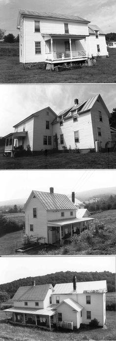 Farmhouse before renovations