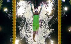 Natalie Du Toit of South Africa competes in the Women's 100m Butterfly - S9 heat 2