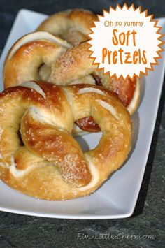 Super yummy soft pretzels recipe that smells like the mall pretzels! This recipe is a keeper! Think party food, game day, super bowl recipes or appetizers!